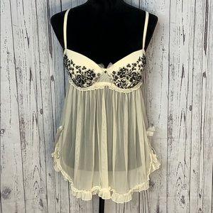 Victoria's Secret Babydoll lingerie size 36C